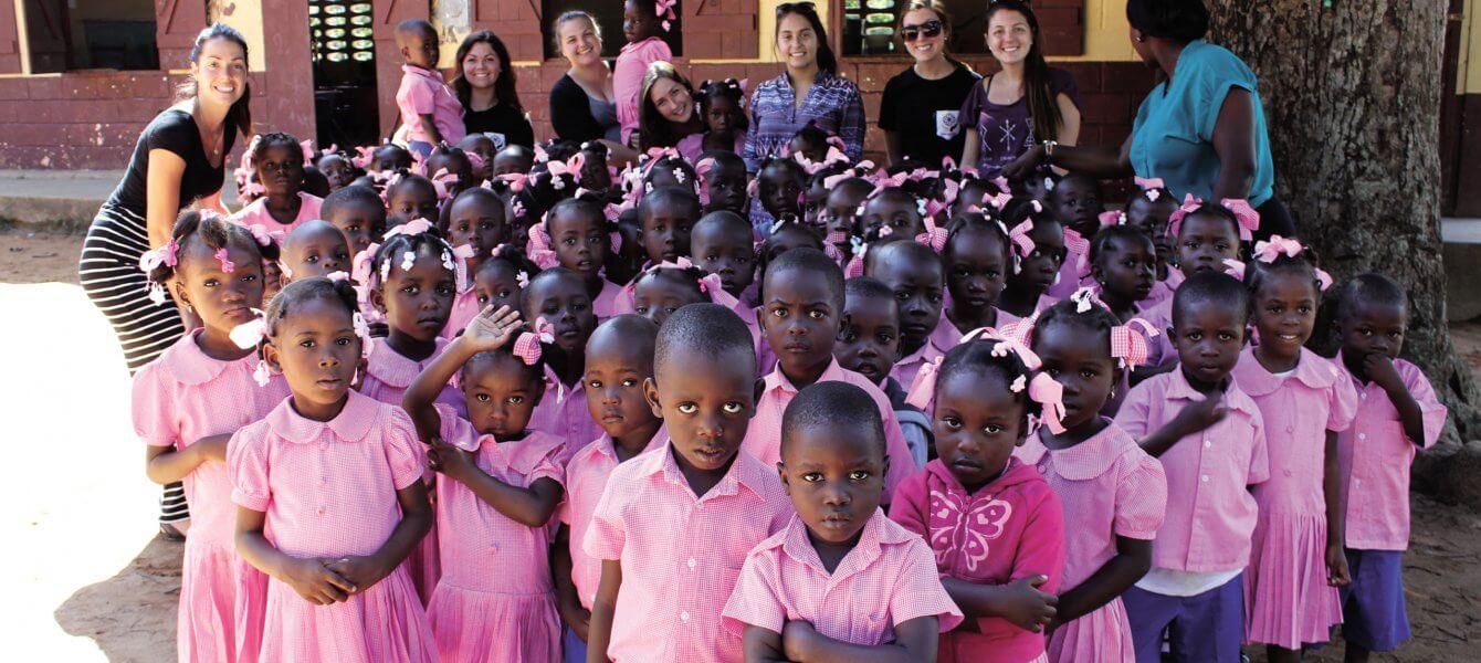 Stage d'enseignement en terre haïtienne pour huit étudiantes