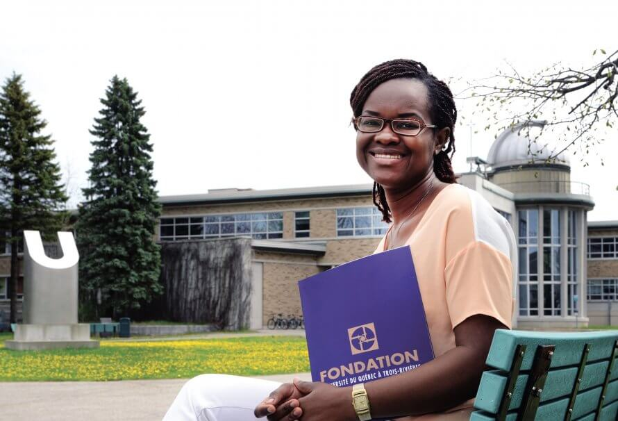 Josiane Metchedié Meupep, fière boursière