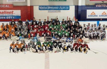 Retour de l'école de hockey des Patriotes