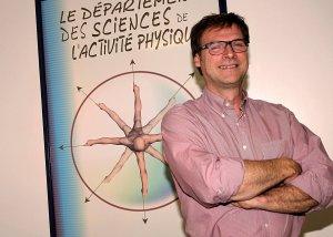 Claude Dugas est professeur au Département des sciences de l'activité physique