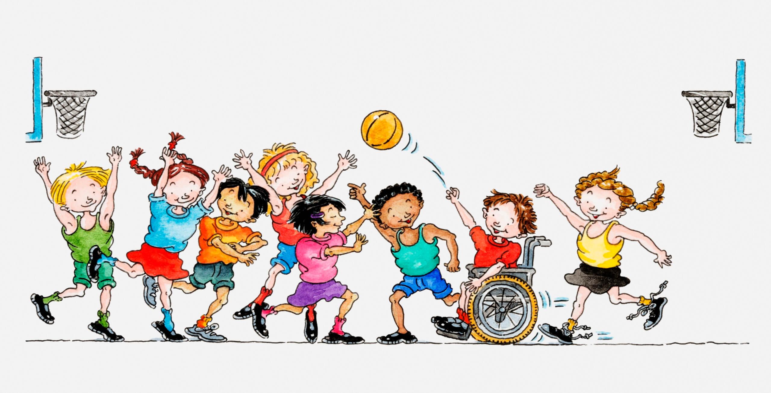 Inclusion scolaire et sociale par l'éducation physique