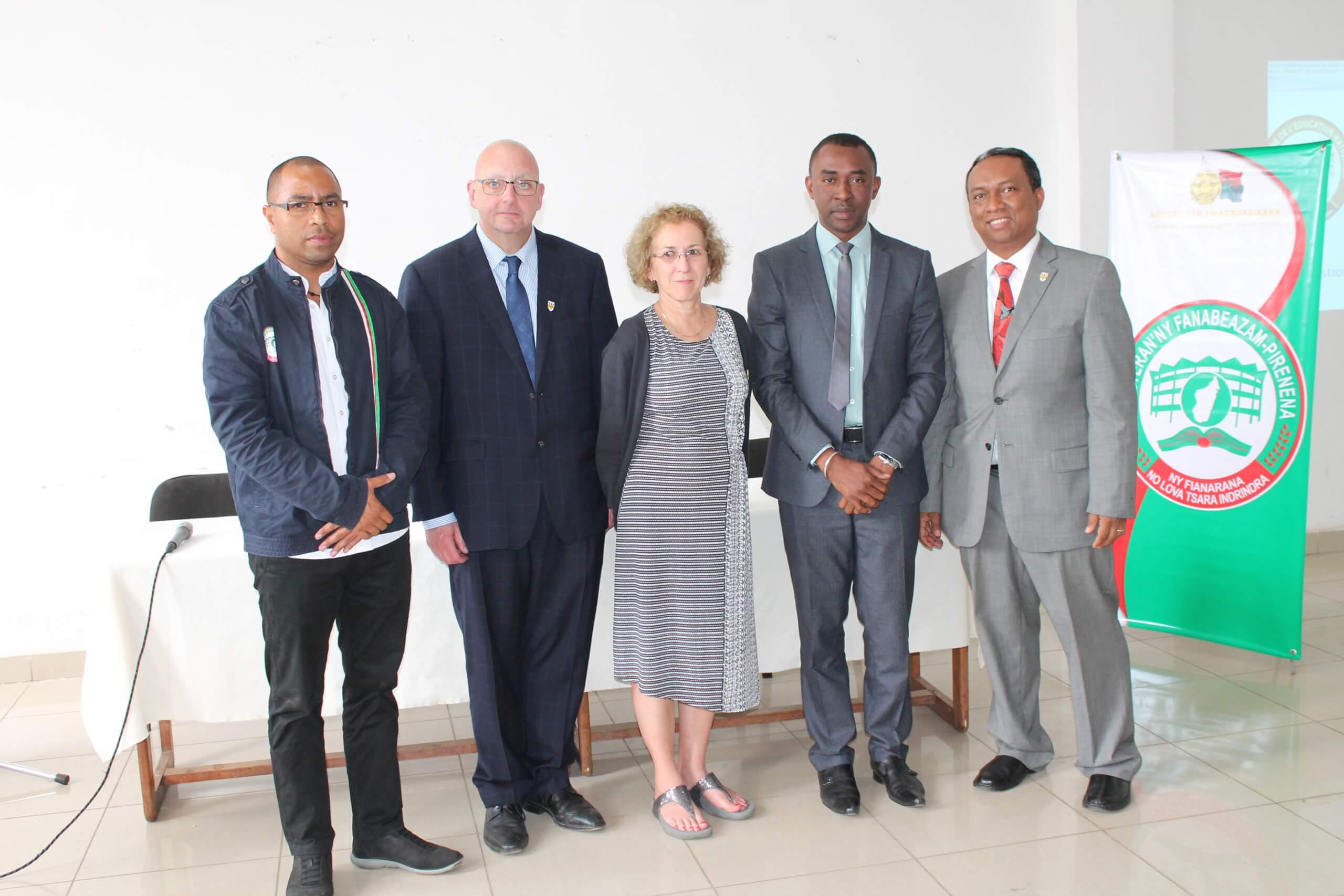 L'UQTR forme une centaine de cadres du ministère de l'Éducation nationale de Madagascar