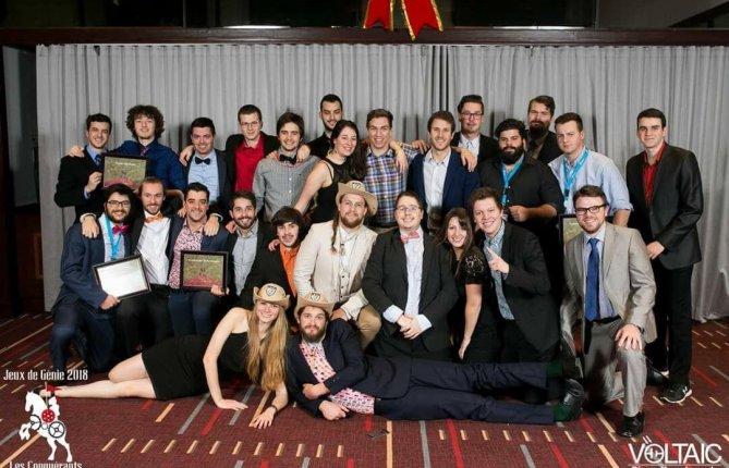 L'UQTR remporte l'épreuve de génie industriel à l'occasion des Jeux de Génie 2018