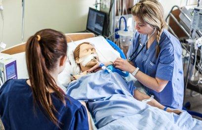 Les futures infirmières de l'UQTR sont premières de classe!