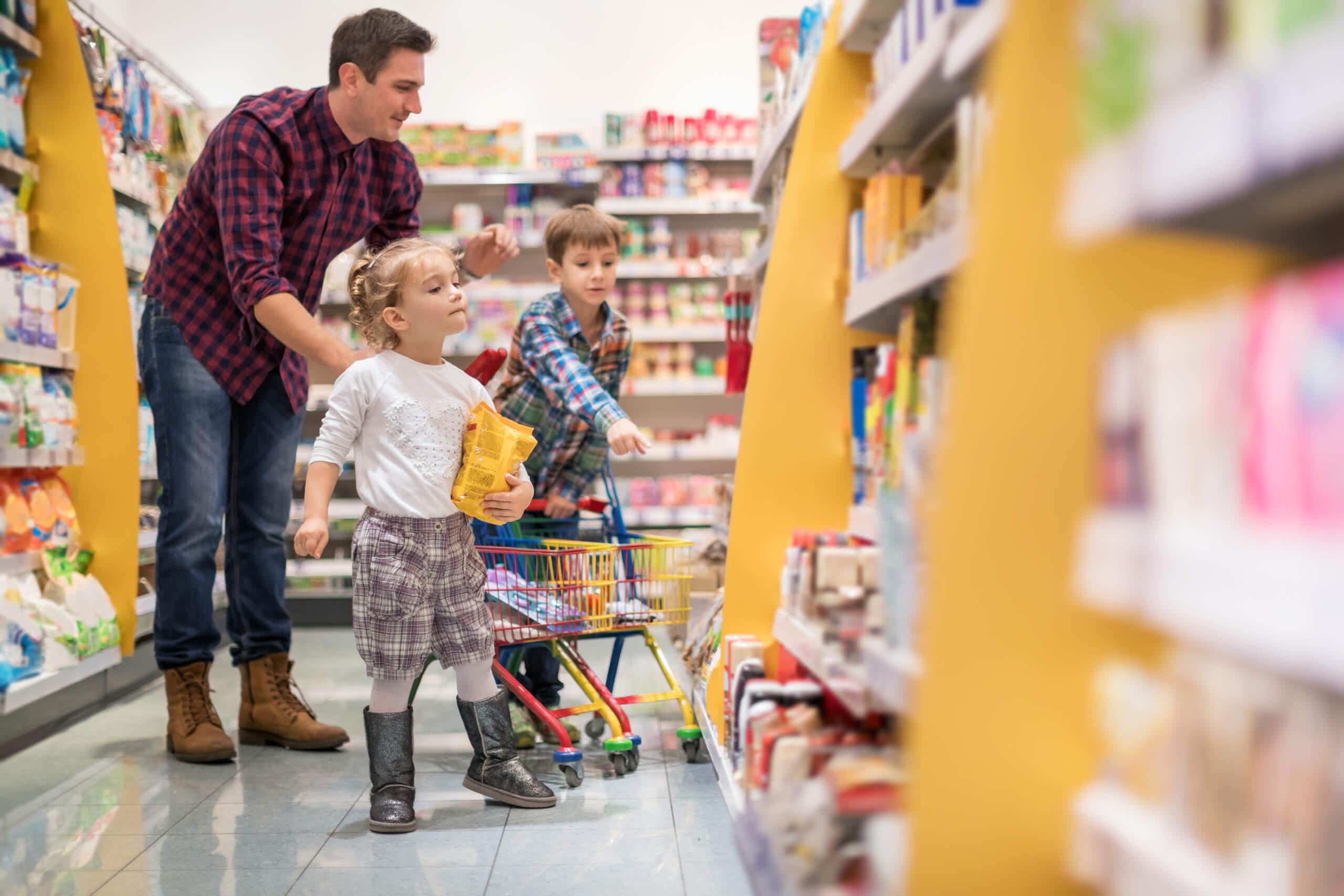 Les enfants, une cible de choix