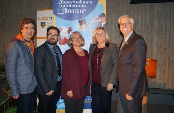 La ministre Francine Charbonneau participe aux réflexions de la Journée de l'Observatoire québécois du loisir