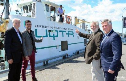 Mission historique pour le navire de recherche Lampsilis