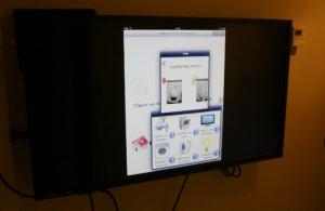 Appartement intelligent - Télévision