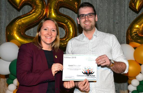 Concours d'affiches scientifiques - Prix Carrefour d'entrepreneuriat et d'innovation