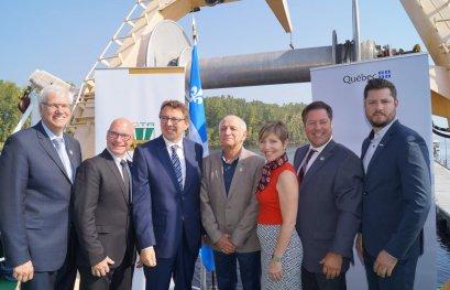 1,7 million de dollars pour soutenir les activités de recherche du navire Lampsilis
