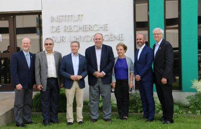 Visite de l'ambassadeur et du consul d'Israël