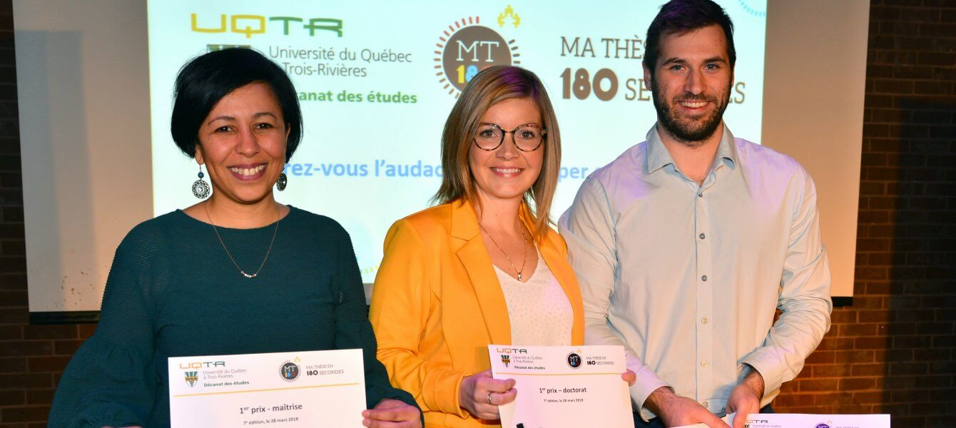 Félicitations aux gagnants de Ma thèse en 180 secondes !