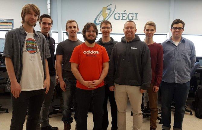 Des étudiants en génie de l'UQTR contribuent au succès de l'équipe de robotique de Keranna