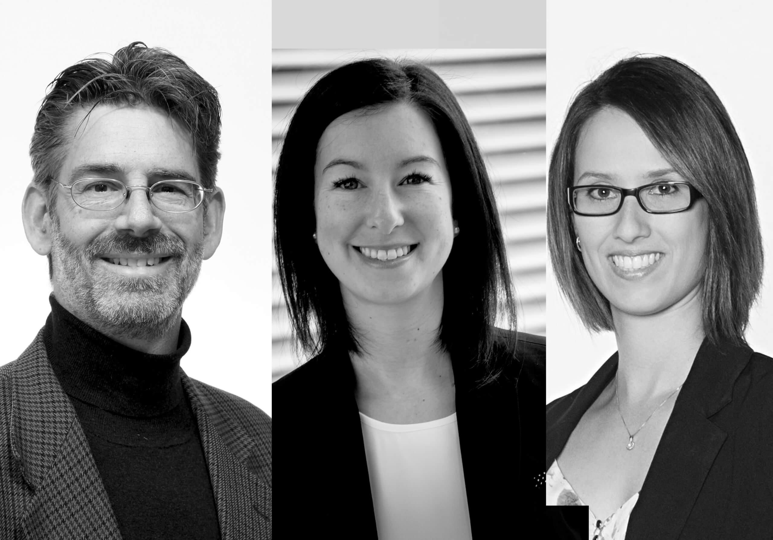 André Bussières, Andrée-Anne Marchand et Isabelle Pagé sont lauréats d'un prix de l'Association Chiropratique Canadienne.