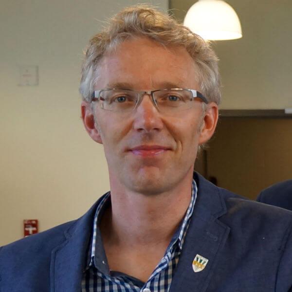 Christophe Kinnard, professeur au Département des sciences de l'envionnement