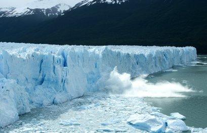 La glace, reflet des changements climatiques