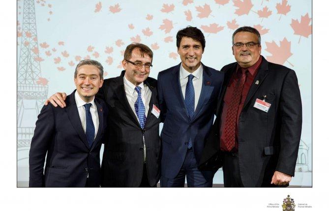 Les dirigeants de Bioénergie La Tuque participent à une mission commerciale historique à Paris