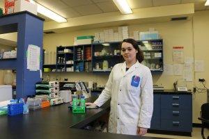 Jovane Hamelin est doctorante en biologie cellulaire et moléculaire à l'UQTR.