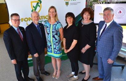La Fondation de l'UQTR devient la première fondation universitaire canadienne agréée Imagine Canada