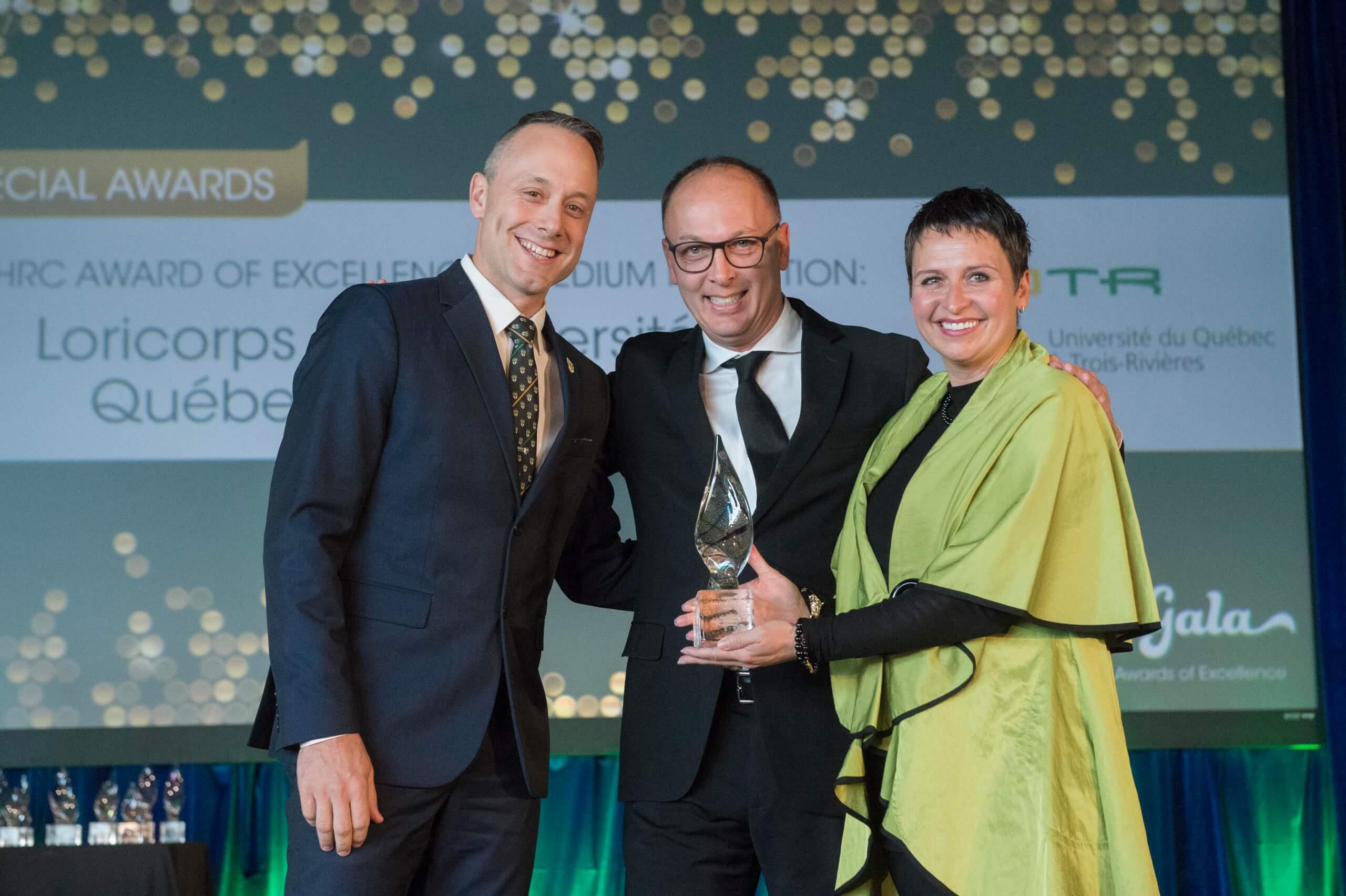 Le Loricorps remporte un prestigieux Prix d'excellence