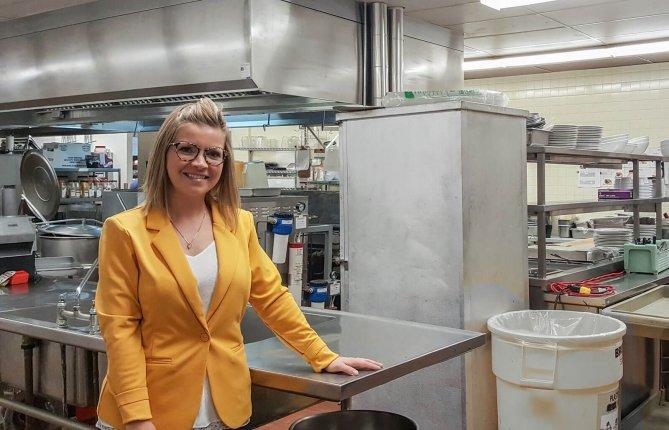 La mission d'Alexandra Lecours: prévenir les blessures chez les jeunes travailleurs