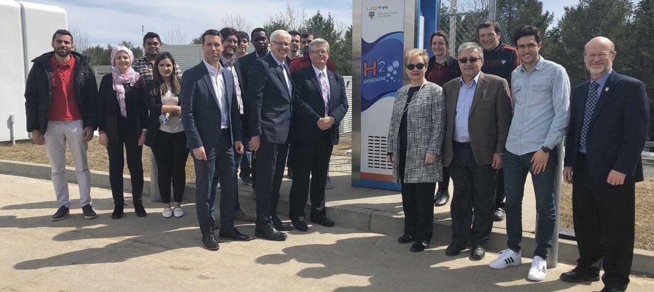 Visite à l'UQTR de la sous-ministre et présidente de l'Agence de développement économique du Canada pour les régions du Québec