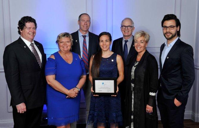 Maude Josée Blondin obtient une bourse d'excellence de la Fondation de l'Ordre des ingénieurs du Québec
