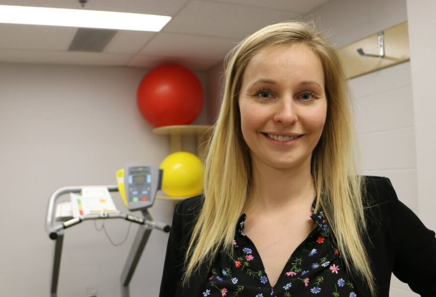 Thalia Lapointe, doctorante en sciences biomédicales à l'UQTR