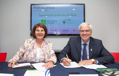 Le CRUL et l'UQTR officialisent un partenariat de cinq ans