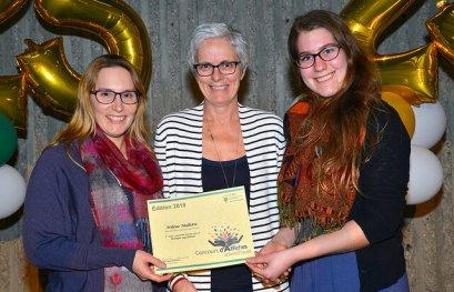 Félicitations à deux étudiantes sages-femmes!