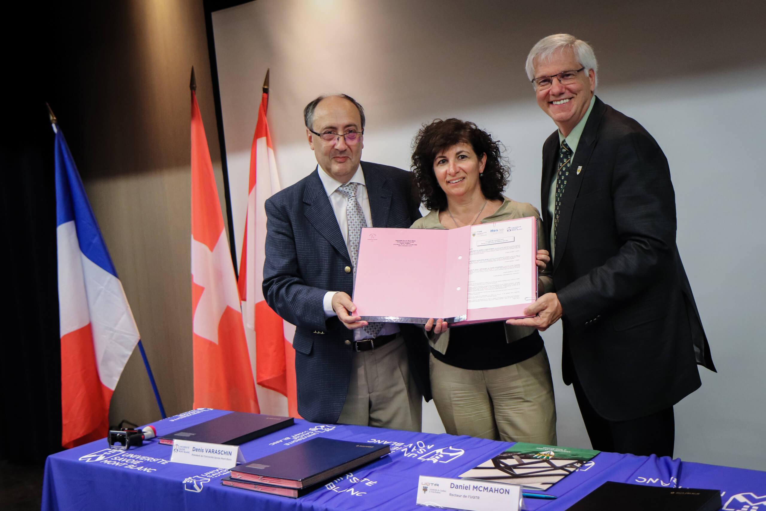 L'UQTR avec ses partenaires français et suisses créent le réseau RELIEF