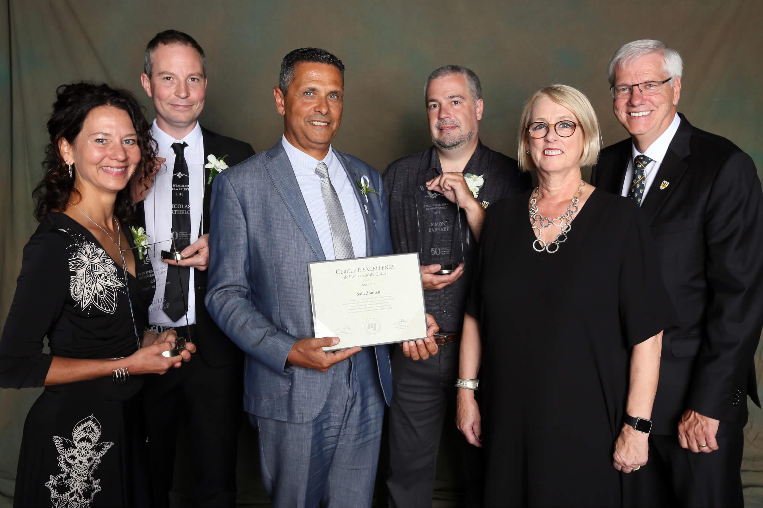 Trois Prix d'excellence pour l'UQTR
