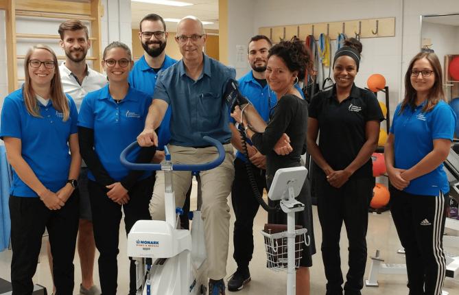 Programme de réadaptation cardiaque à l'UQTR