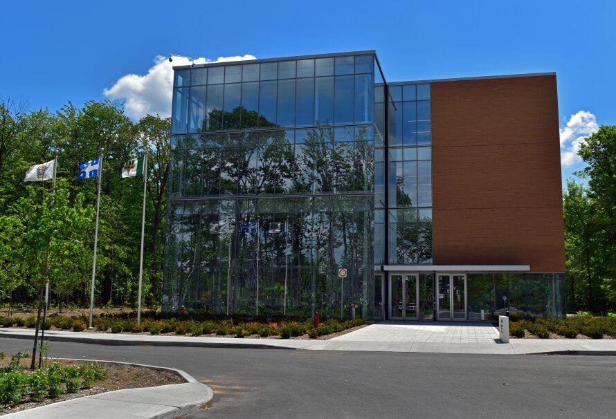 Campus de l'UQTR à Drummondville.
