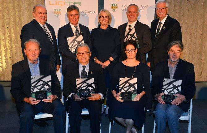 Six personnalités de l'UQTR honorées