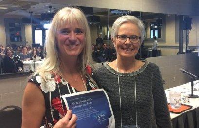 Remise du Prix du préceptorat 2018 en pratique sage-femme
