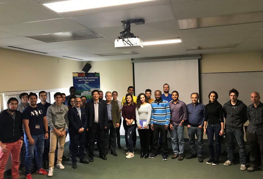 L'IRH accueille le professeur Ben Zhong Tang de la Hong Kong University of Science and Technology.