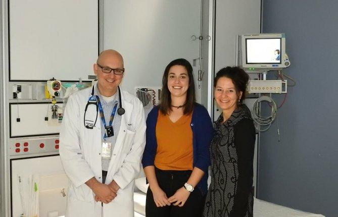 Une équipe de l'UQTR primée pour un projet de simulation in situ en soins critiques