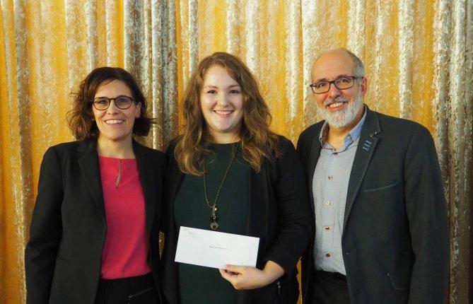 Isabelle Martineau-Crète récompensée par l'OPPQ