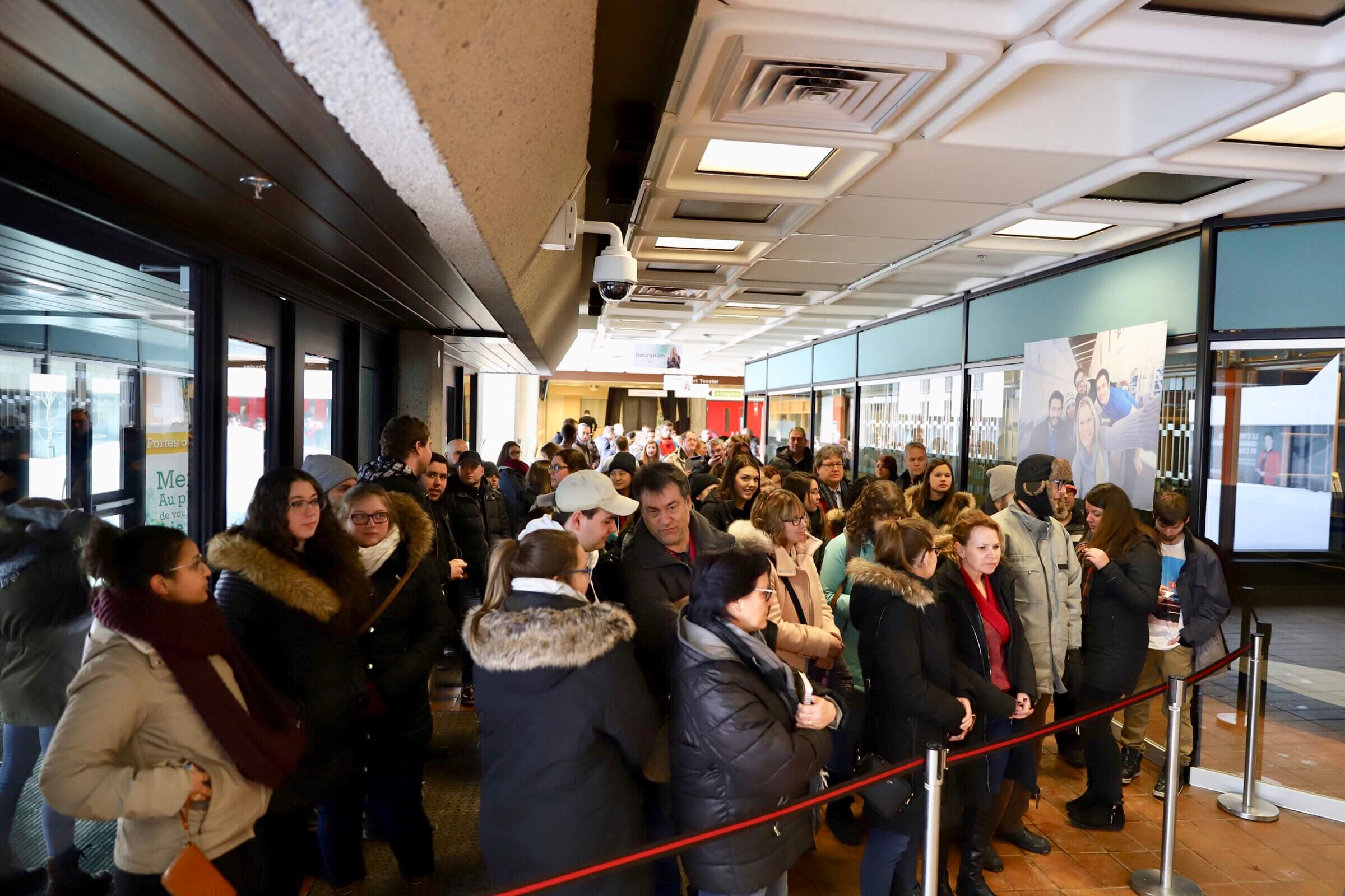 Nouveau record d'achalandage à la Journée portes ouvertes de l'UQTR