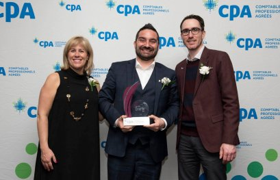 Patrick Benjamin reçoit le Prix CPA Émérite
