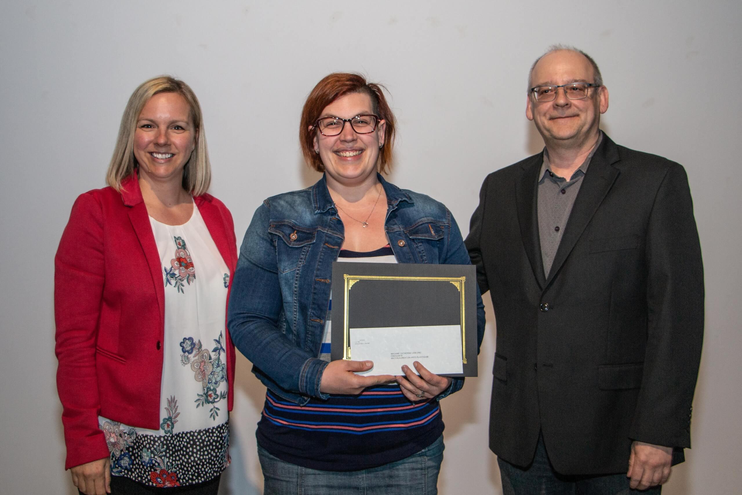 L'artiste Catherine Leblond remporte la Bourse Gilles-Verville 2019