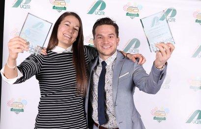 Gabrielle Lambert et Christophe Boivin nommés Patriotes de l'année
