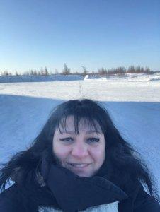 Participation de la professeure et biochimiste Isabel Desgagné-Penix à l'Expo-sciences autochtone Québec 2019, à Kuujjuaq au Nunavik.