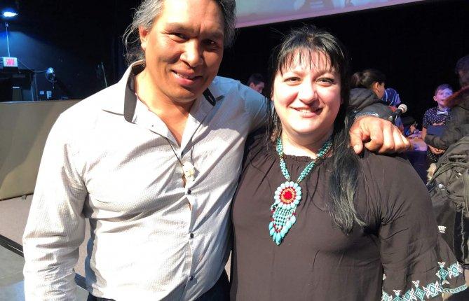 Isabel Desgagné-Penix participe à l'Expo-sciences autochtone Québec
