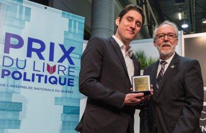 Médaille de l'Assemblée nationale pour Paul-Étienne Rainville