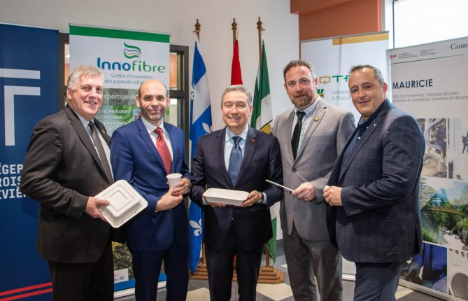 L'UQTR poursuit son travail d'innovation en développement de produits biosourcés