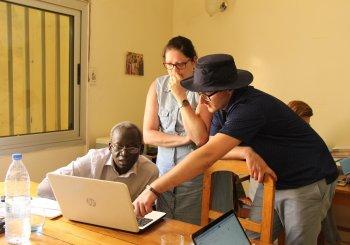 Quatre étudiants de sciences comptables de l'UQTR en appui à des organisations sénégalaises