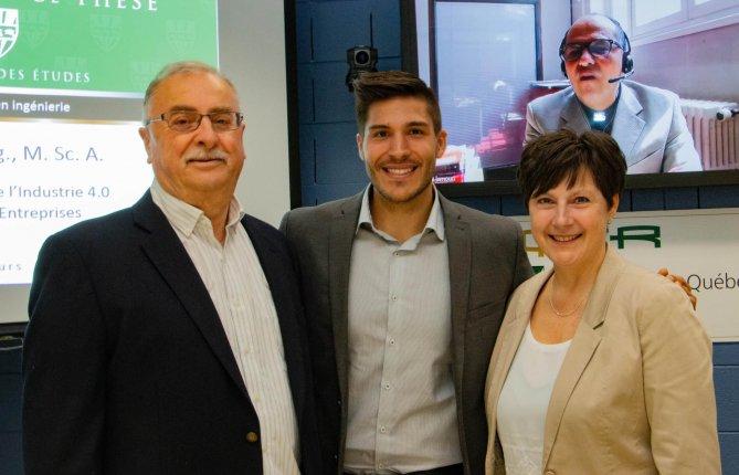 Stratégie de mise en œuvre de l'Industrie 4.0 dans les petites et moyennes entreprises manufacturières québécoises