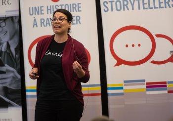 Une candidate à la maîtrise en communication sociale, finaliste au concours «J'ai une histoire à raconter»